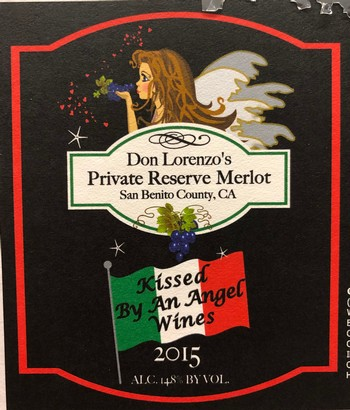 2015 Don Lorenzo Private Reserve Merlot