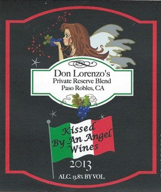 2013 Don Lorenzo's Private Reserve Blend